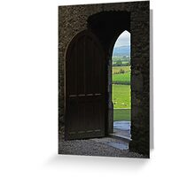 Every New Chapter Provides Intriguing New Doors... Which One Do You Long To Explore? Greeting Card