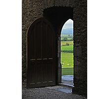 Every New Chapter Provides Intriguing New Doors... Which One Do You Long To Explore? Photographic Print