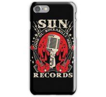 Sun Records : Good Ol' Rockabilly Music iPhone Case/Skin