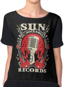 Sun Records : Good Ol' Rockabilly Music Chiffon Top