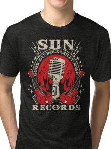 Sun Records : Good Ol' Rockabilly Music Tri-blend T-Shirt