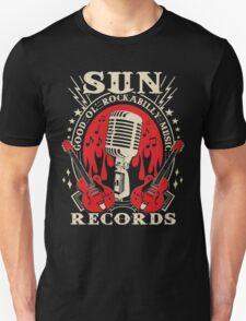 Sun Records : Good Ol' Rockabilly Music Unisex T-Shirt