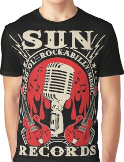 Sun Records : Good Ol' Rockabilly Music Graphic T-Shirt