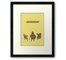 Moonrise Kingdom - Scout Master Ward Framed Print
