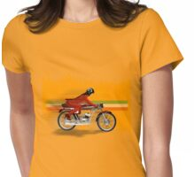 cafe racer mondial girl Womens Fitted T-Shirt