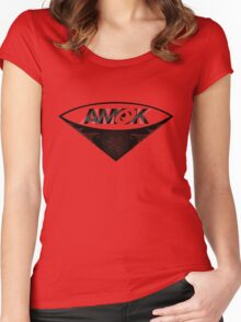 A M O K [tm]  Women's Fitted Scoop T-Shirt