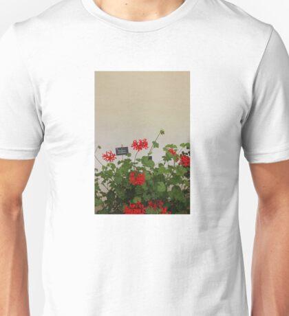 Geraniums (Pelargonium) #8 Unisex T-Shirt