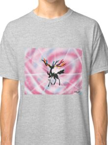 Xerneas: Dazzling Gleam Silhouette Painting Classic T-Shirt