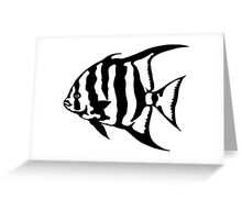 The Atlantic Spade Fish Greeting Card