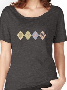 ALIEN Argyle Women's Relaxed Fit T-Shirt