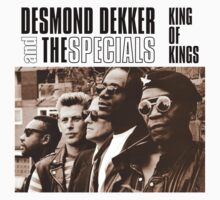King Of Kings : Desmond Dekker And The Specials ( Rare ) One Piece - Short Sleeve