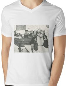 The night café Mens V-Neck T-Shirt