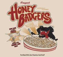 Honey Badgers by Caddywompus