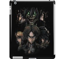 Jaeger Bombs Attack on Titan Epic Painting iPad Case/Skin