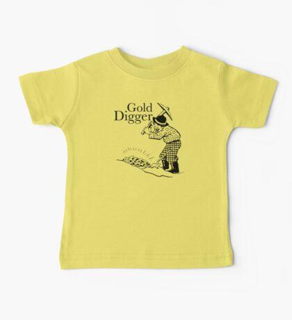 Gold Digger Baby Tee
