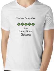 World of Darkness - Exceptional Success Mens V-Neck T-Shirt