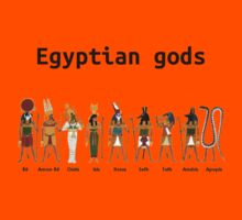 Egyptian gods by jonath1991