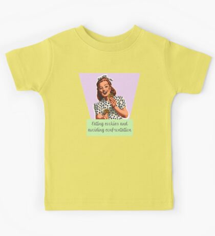 Cookies and confrontation Kids Tee