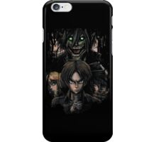 Jaeger Bombs Attack on Titan Epic Painting iPhone Case/Skin
