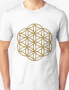Flower of Life 3 Unisex T-Shirt