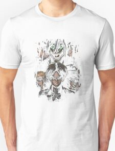 Jaeger Bombs Attack on Titan Epic Painting T-Shirt