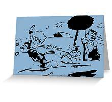 Krazy Kat Jules Fiction Greeting Card