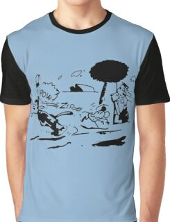 Krazy Kat Jules Fiction Graphic T-Shirt