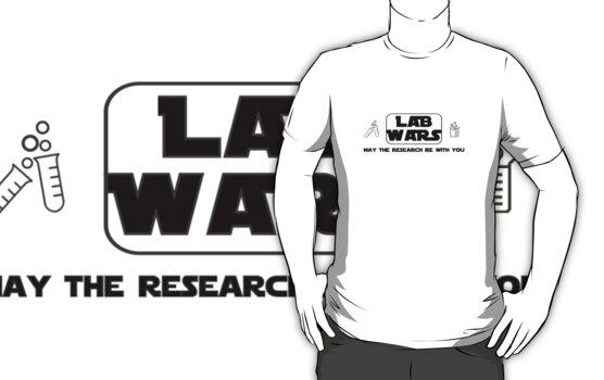 Lab Wars (black) by CellDivisionLab