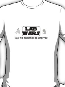 Lab Wars (black) T-Shirt