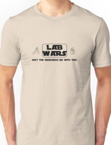 Lab Wars (black) Unisex T-Shirt