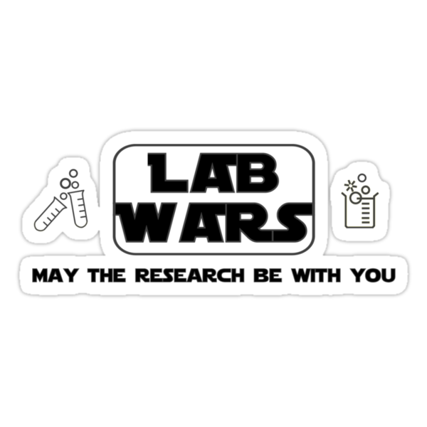 Lab Wars (black) by CellDivisionLab