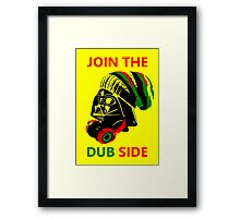 Dub Vader (red-green) Framed Print
