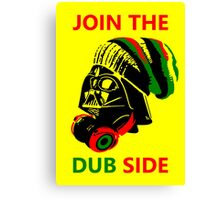 Dub Vader (red-green) Canvas Print