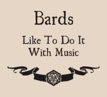 Bards Like to Do It With Music by Serenity373737