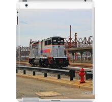 NJ Transit's 1004 at Hoboken NJ iPad Case/Skin