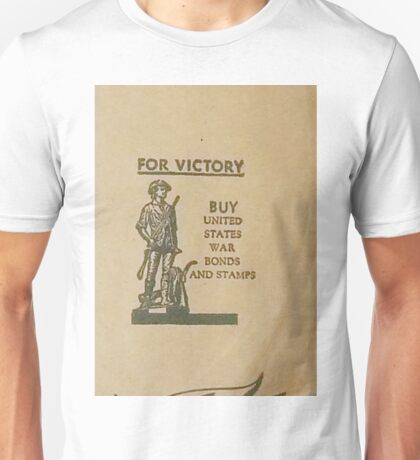 For Victory - U.S. War Bonds Unisex T-Shirt
