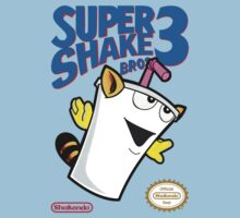 Super Shake Bros. 3 One Piece - Short Sleeve