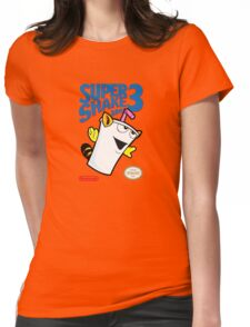 Super Shake Bros. 3 Womens Fitted T-Shirt