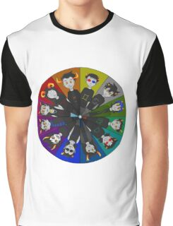 Homestuck Circle Graphic T-Shirt