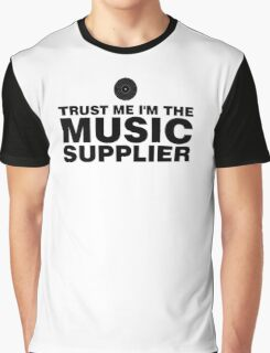 Music supplier (black) Graphic T-Shirt