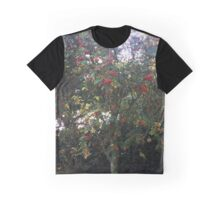 Red Berries Graphic T-Shirt