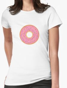 Delicious donut Womens Fitted T-Shirt