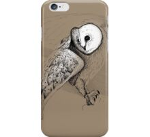Owl - The connection to wisdom iPhone Case/Skin