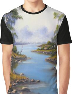 River Gumtrees Graphic T-Shirt