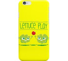 Lettuce Play iPhone Case/Skin