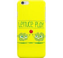 Lettuce Play iPhone Case/Skin
