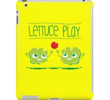 Lettuce Play iPad Case/Skin