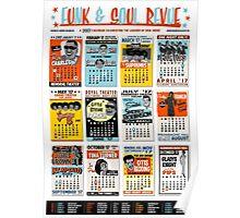 Funk & Soul Revue - 2017 Calendar Poster
