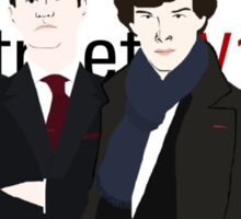 Baker Street Four Sticker
