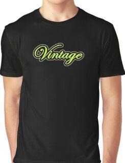 Vintage green black Graphic T-Shirt